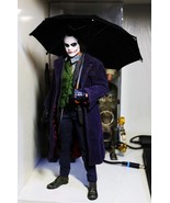Custom 1/6 Scale Black Umbrella for Hottoys Joker DX11 Miniature Doll - $23.01