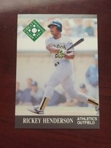 1991 Fleer Ultra Great Performances - Rickey Henderson #393 - $0.99