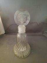 Avon Crystal Snowflake Christmas Bell Decanter  - $8.00