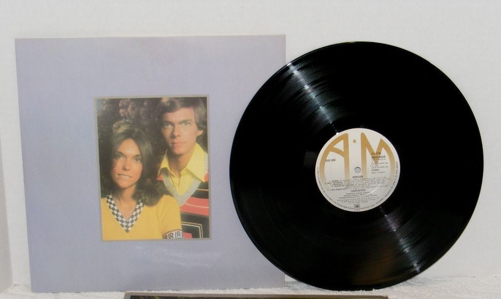 1975 CARPENTERS HORIZON A&M RECORDS LP VINYL RECORD AMLK64530 GUC