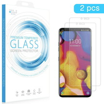 LG K30 / K10 TEMPERED GLASS SCREEN PROTECTOR 0.26MM ARCING 2PCS - $7.99