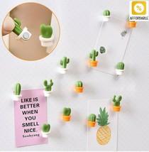 Cactus Fridge Magnets Refrigerator Message Sticker Cute Succulent Plant ... - $7.29