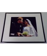 Royal Wedding Prince Harry Meghan Markle Framed 11x14 Photo Display  - $32.36