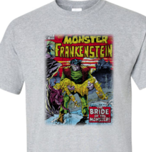 Werewolf by Night T Shirt retro 70s marvel comics Legion of Monsters graphic tee image 2