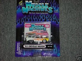 Muscle Machines 65 Chevelle 02-106 Flamed Free Usa Shipping - $11.29