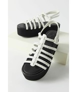 NEW Urban Outfitters UO Fisherman Platform Sandal in White sz 6 - $20.79