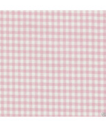 Longaberger Carry Along Basket Pink & White Fabric Over Edge Liner Only New - $12.82