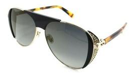 Jimmy Choo Sunglasses RAVE/S J5G/FQ 56-13-135 Black Gold / Grey Gradient... - $131.32
