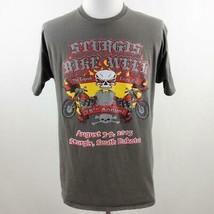 Sturgis 75th Annual Bike Week Graphic T Shirt Mens Sz L - $36.19
