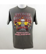 Sturgis 75th Annual Bike Week Graphic T Shirt Mens Sz L - $36.19