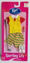 Vintage Barbie Sporting Life Golf Ken Fashion Clothing Outfit Set - $21.60