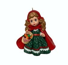 Vintage Hallmark Christmas Ornament Madame Alexander Little Red Riding Hood 1997 - $24.72