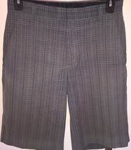 Men's Nike Tiger Woods Collection Plaid Stretch Golf Shorts Sz 30 - $39.59