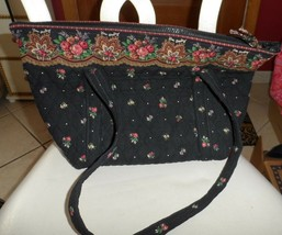 vera bradley Paddy bag in retired PetiPoint pattern   - £41.39 GBP