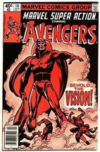 "Marvel Super Action #18""Behold the Vision"" 1980 Marvel Comics Fine - $19.59"