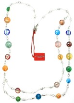 Necklace Antica Murrina Venezia CO905A38, Discs, Two Wires, Multicolour, 80 CM image 1