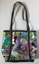 Disney Vintage Mickey and Minnie Mouse Comic Strip Vinyl Tote Handbag Bag EUC - $79.99
