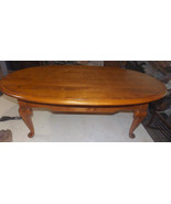 Mid Century Oval Ethan Allen Coffee Table - $499.00