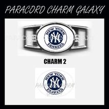 NEW YORK YANKEES 2 Shoelace Charm Paracord Bracelet Charm - £1.87 GBP