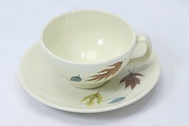 Franciscan Autumn Leaves Saucers and Cups Lot of 16 - $48.99