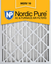 Nordic Pure 20x24x4 (3 5/8) Pleated MERV 10 Air Filters 2 Pack - $38.96
