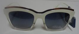 Falls Creek White Clear Sunglasses NWT 100% UV Protection image 2