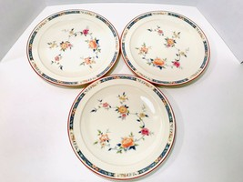 "Noritake Vintage 1970's China Song 8165 W83 Set Of 3 Dinner Plates 10 1/4"" - $24.27"