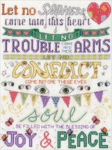 """Design Works Counted Cross Stitch Kit 11""""X14""""-Blessings (14 Count) - $26.96"""