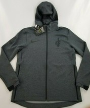 new NIKE Therma Flex men sweatshirt hoodie Cleveland Cavs NBA BQ4066 gre... - $59.39