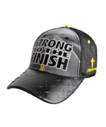 "MEN'S CHRISTIAN CAP ""STRONG TO THE FINISH"" - $17.99"