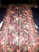 Vera Bradley Garment Bag Full Size Long WILDWOOD EUC Hard to find one th... - $939,09 MXN