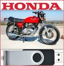 1974 Honda CB350F CB400F  Factory Repair Shop Manual On USB - $18.00
