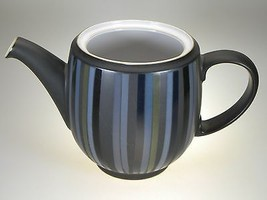 Denby Jet Stripes Teapot NO LID New With Tag Made in England - $38.67