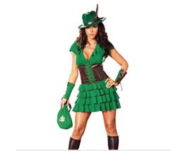 Dreamgirl Robin Hood Halloween Costume S - $29.69