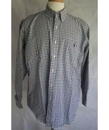 Ralph Lauren Golf Men's Long Sleeve Tilden Button Down Dress Shirt Size L - $19.79