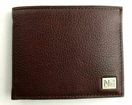 Nautica Men's Premium Leather Credit Card Id Passcase Wallet Billfold 31Nu22X030 image 2