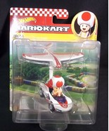 Hot Wheels Mariokart diecast TOAD P-Wing PLANE GLIDER NEW - $13.96