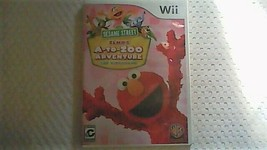 Sesame Street: Elmo's A-to-Zoo Adventure (Complete) (Nintendo Wii, 2010) - $8.95
