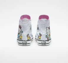 Converse x Hello Kitty Chuck Taylor All Star High Top, 164629F Multi Sizes White image 5