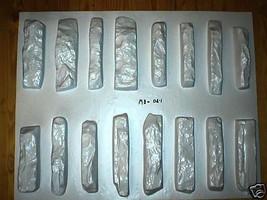 #ODL-01 - 16 STONE MOLDS MAKE LEDGESTONE VENEER FOR HOME & GARDEN FOR PENNIES EA image 1