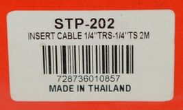 Hosa Technology STP202 Insert Cable Labeled Leads Audio 2M image 3