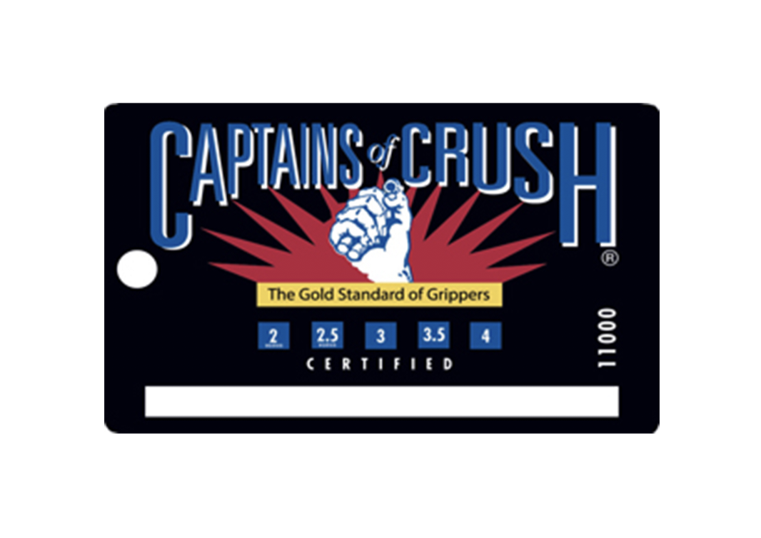 BEST VALUE! IronMind Captains of Crush CoC Silver Bullet