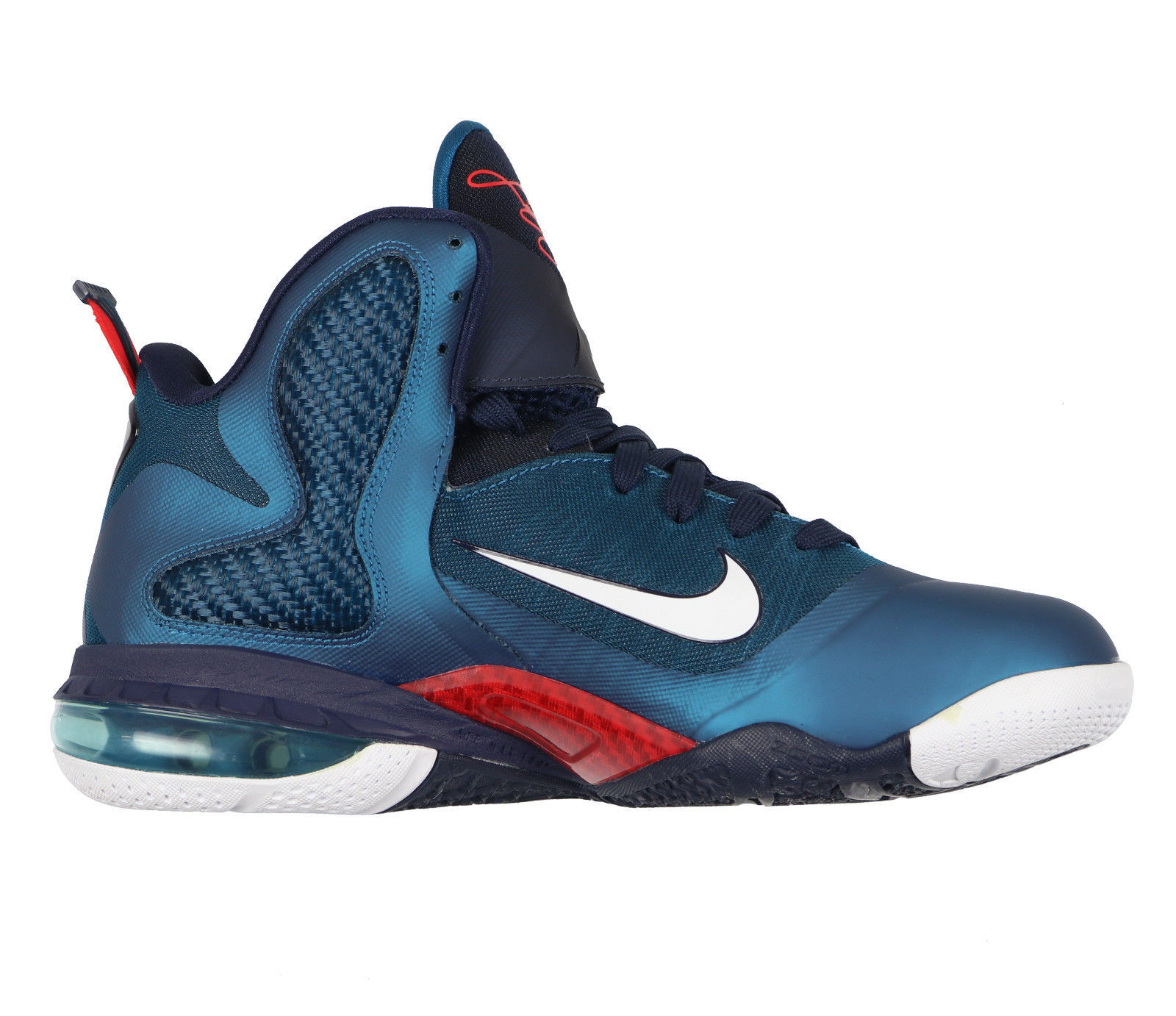 low priced 7defd 6e8be NIKE LeBron 9 Basketball Shoes sz 9 Swingman Edition Green Abyss Griffey