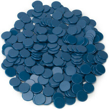 Solid Blue Bingo Chips, 300-pack - $19.19