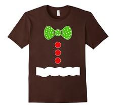 GN Shop - Gingerbread Man Costume T Shirt - Christmas Shirts Men - $17.95+