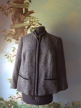 Elisabeth by Liz Claiborne Petite Blue Long Sleeve  Blazer Suit Jacket Size 16P - $35.64