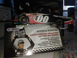 #00 Kasey Kahne 2015 Haas Automation Charlotte Raced Win Silverado Truck... - $83.80