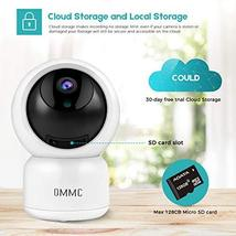 OMMC Wireless Security Camera 1080P, Baby Monitor Home IP Camera with Night Visi image 5