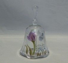 Fenton Glass Small Hand Painted Bell  - $11.88