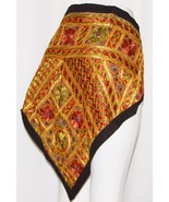 Vintage Mirror Hippie Tribal wall Belly Dance Dancing Hip Scarf Tapestry... - $19.79